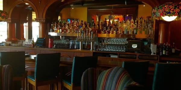 The Old Spaghetti Factory Bar Area